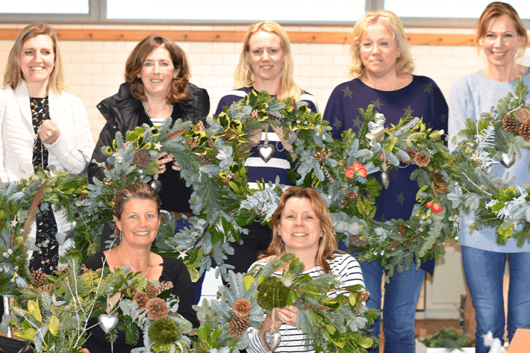 Christmas Wreath Masterclass