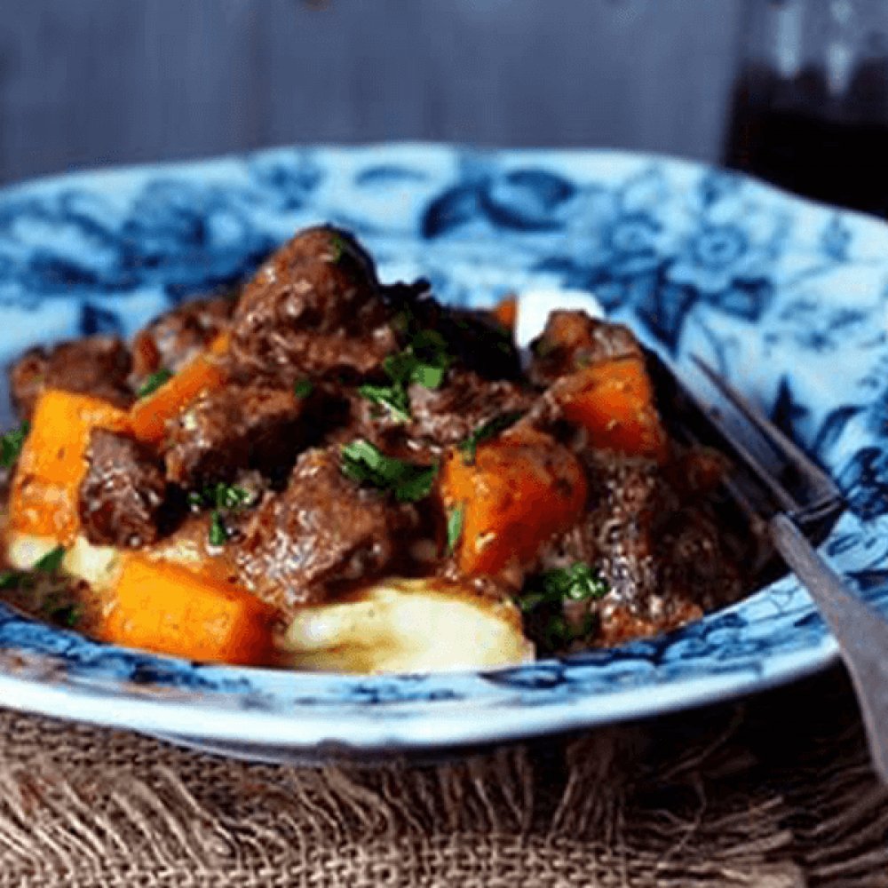 Beef Stew with Greens Image 1