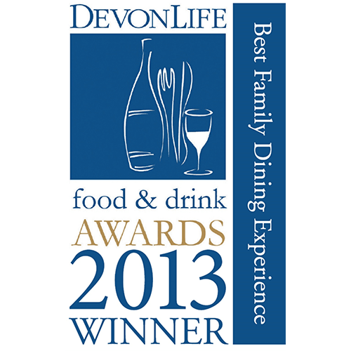 Best Family Dining Experience - Devon Life Food & Drink Awards 2013
