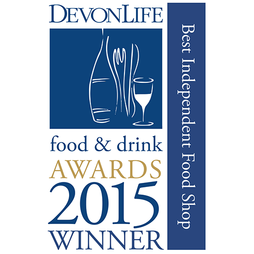 Best Independent Food Shop - Devon Life Food & Drink Awards 2015