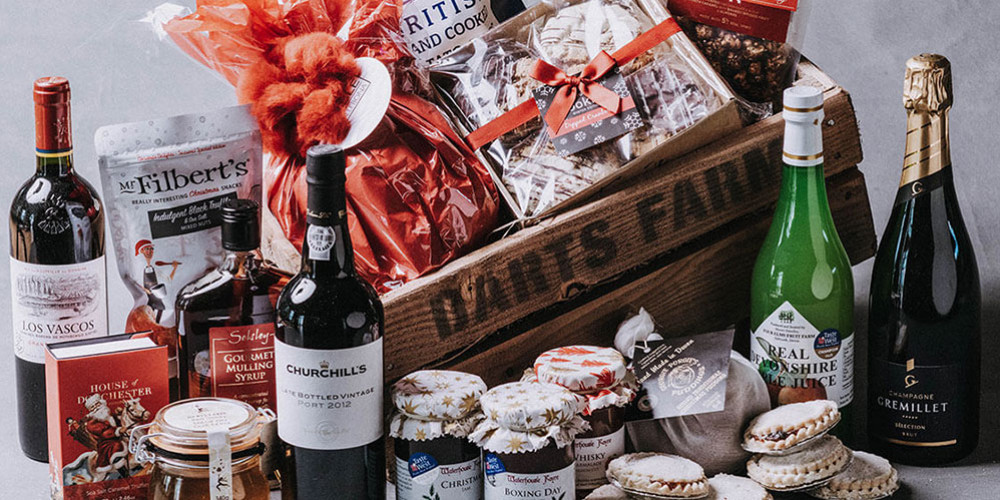 Indulgent Festive Hampers