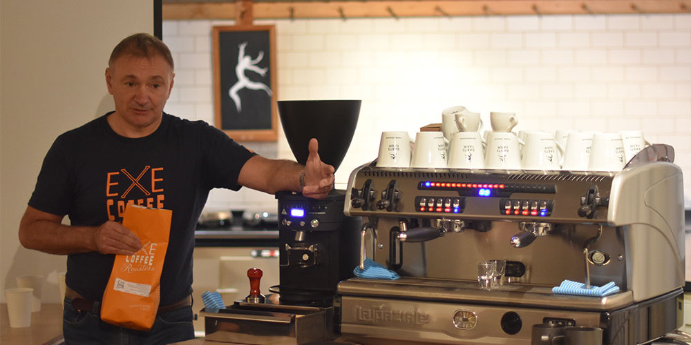 An evening with Exe Coffee Roasters