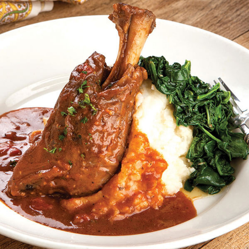 Slow Cooked Lamb Shanks Image 1