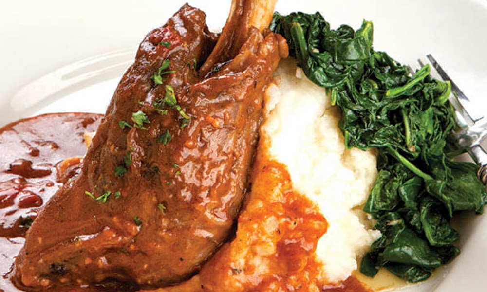 Slow Cooked Lamb Shanks Image 2