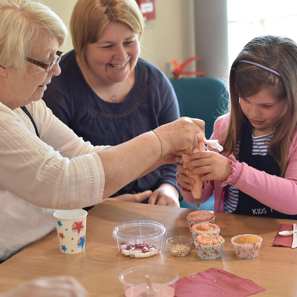 Mother's Day Cupcake Workshop
