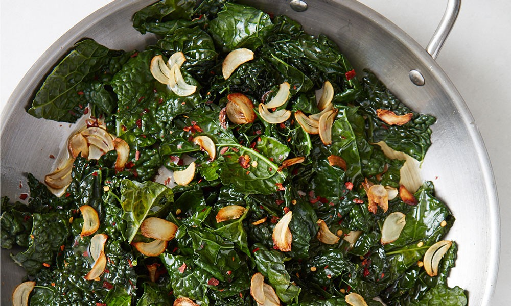 Kale with Lemon & Garlic Image 2