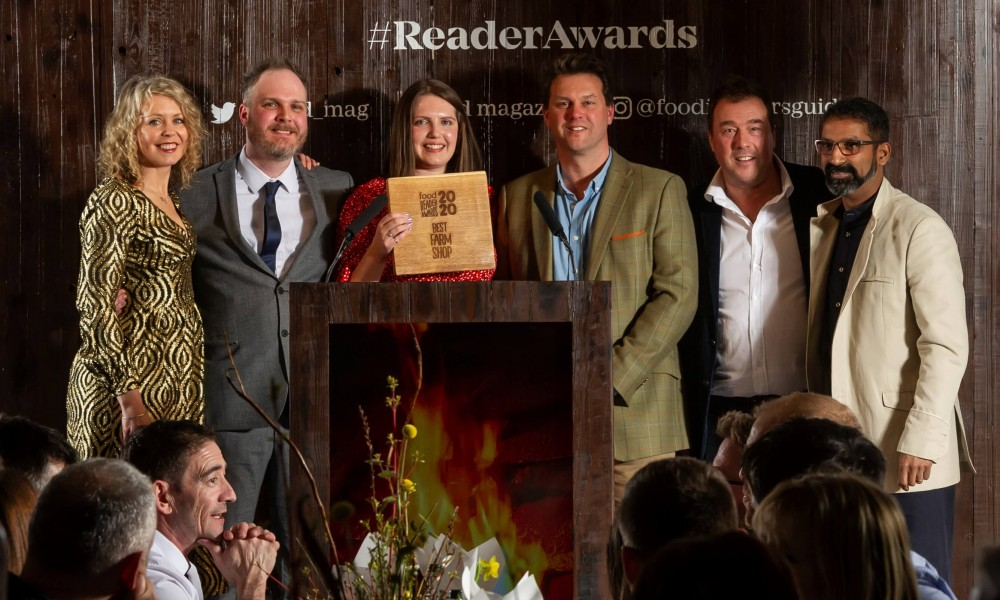 Winner of Best Farm Shop... Thank you!