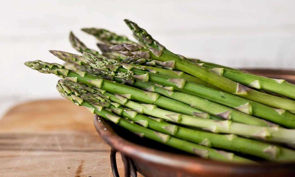 Lemon & Garlic Asparagus