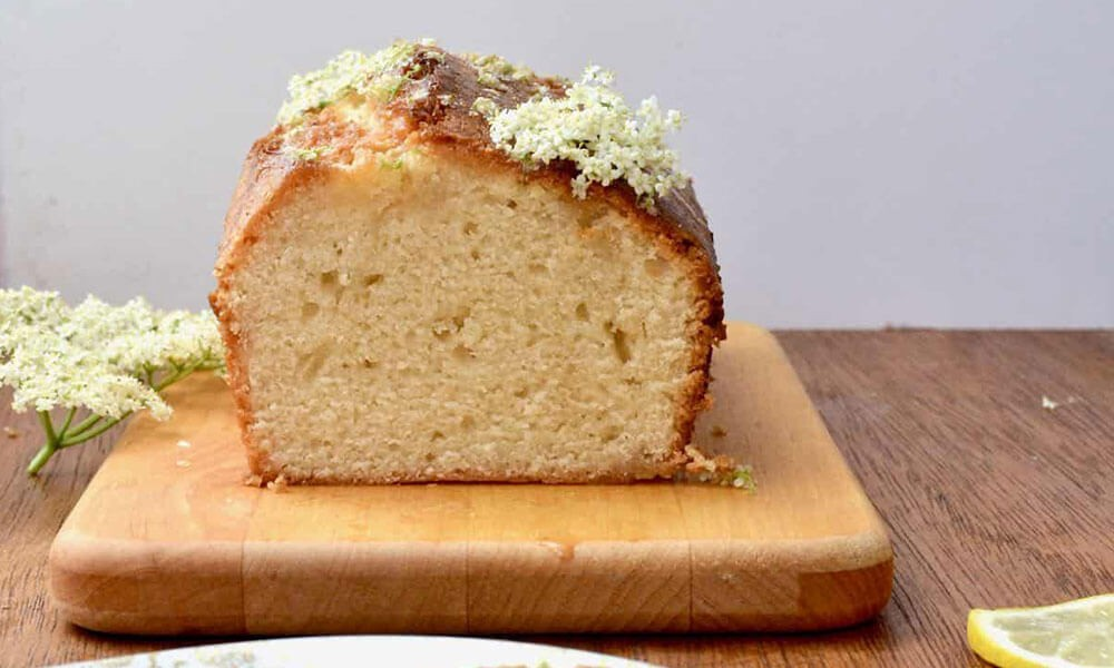 Elderflower Drizzle Cake Image 2