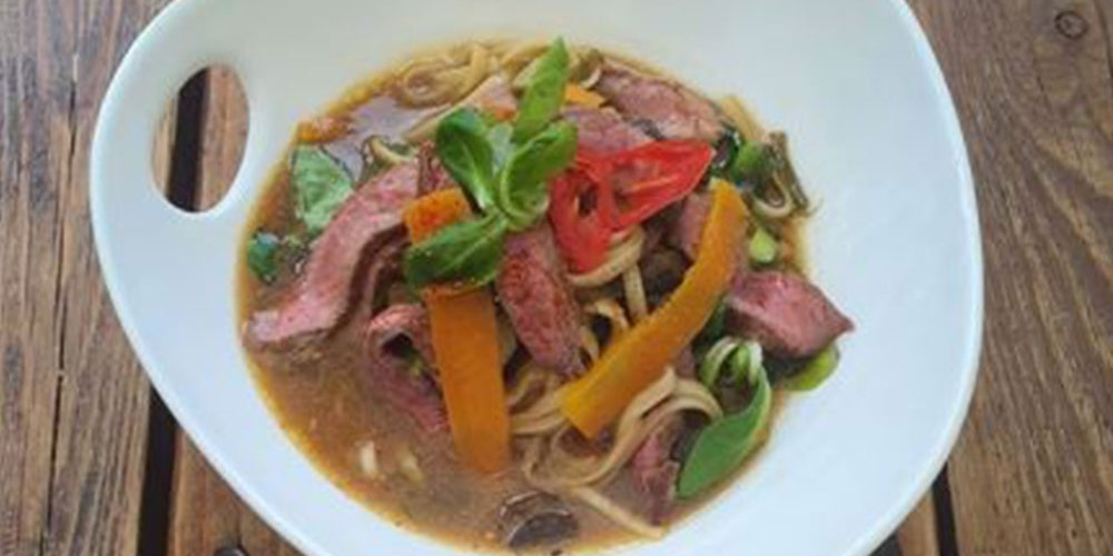 Sirloin Steak Noodle Broth