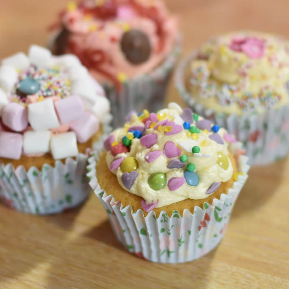 Fairy Cakes with Vanilla Buttercream Icing Image 1