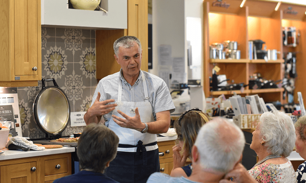 AGA Cooker Demonstrations - 20th October 2020